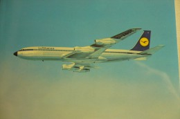 AIRLINES ISSUE / CARTE COMPAGNIE         LUFTHANSA       B 707 - 1946-....: Moderne