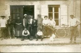 Carte Photo Sandillon(45). Beau Plan En 1910 - France
