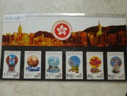 Pochette Hong Kong Chine 1997 Emballée D´origine - 1949 - ... République Populaire