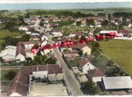 89 - HERY - RUE DE LA CROIX BROSSET - VUE AERIENNE