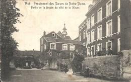 VISE : Pensionnat Soeurs Notre-Dame - Partie Facade Côté Meuse - Cachet De La Poste 1914 - Wezet