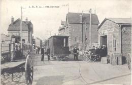 62 -  PARIS PLAGE - L.D., B. 22. - Circulé En 1905 - Belle Animation - Café Du TRAMWAY - - Le Portel