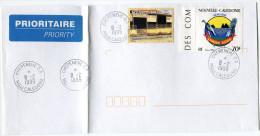 NOUVELLE-CALEDONIE LETTRE AVEC OBLITERATION CHEPENEHE-GA 8-2-1999 - Nueva Caledonia