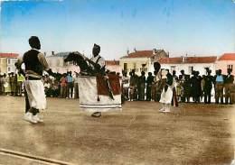 Gd Format Div -ref R458 - Herault - Meze - Le Chevalet - Danse Folklorique Du Languedoc - Danses - Carte Bon Etat - - Mèze