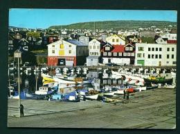 FAROE ISLANDS  -  Torshavn  Used Postcard As Scans - Faroe Islands