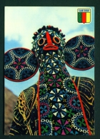 CAMEROON  -  Bamelike Mask  Unused Postcard As Scan - Cameroon