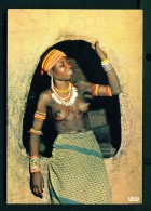 CAMEROON  -  Oudjila  Young Girl Of The Sare Tribe  Unused Postcard As Scan - Cameroon