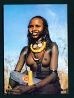 CAMEROON  -  Waddei Dancer  Unused Postcard As Scan - Cameroon