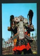 CAMEROON  -  Bamileke Dancer  Unused Postcard As Scan - Cameroon