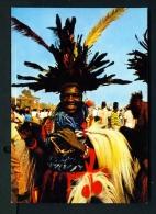 CAMEROON  -  Kumba  Jeune Dancer  Unused Postcard As Scan - Cameroon