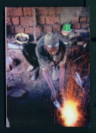 CAMEROON  -  Babungo  Blacksmith At Work  Unused Postcard As Scan - Cameroon