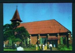CAMEROON  -  Bali-Nyonga  Presbyterian Church  Unused Postcard As Scan - Cameroon
