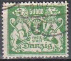 Danzig 1923 - Mi 154  - Gestempelt - Used - Dantzig