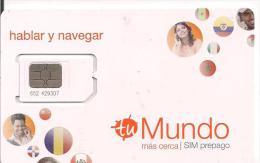 GSM ORANGE MUNDO SIN NUMERO TELEFONO - Tarjetas Telefónicas