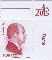 ** MONACO 2015 - N° 2952 - ROUGE DE S.A.S. LE PRINCE ALBERT II - NEUF ** - Neufs