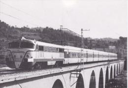 Nº4029 POSTAL DE UNA LOCOMOTORA EN MARTORELL DEL AÑO 1973  (TREN-TRAIN-ZUG) AMICS DEL FERROCARRIL - Trenes