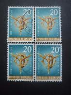 SENEGAL N°392 X 4 Oblitéré - Timbres