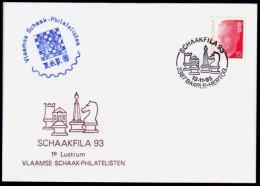 Belgie - Schaken Schach Chess - Baarle-Hertog 13.11.1993 - Schaakfila - Echecs