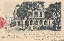 YY 173 / C P A  ANTILLES - CUBA   CIENFUEGOS   - TEATRO TERRY - Cuba