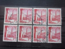 TUNISIE N°403 X 8 Oblitéré - Stamps