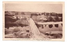 Navarrenx Pont Sur Le Gave Vu Du Rempart - Andere Gemeenten