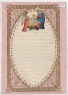 """03357 """"LETTERA DI NATALE - LETTRE DE NOEL - CHRISTMAS LETTER"""" DECORATA IN ORO E RILIEVO, ANNI '30  XX SECOLO ORIGINALE - Decorative Items"""