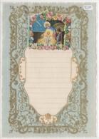 """03361 """"LETTERA DI NATALE - LETTRE DE NOEL - CHRISTMAS LETTER"""" DECORATA IN ORO E RILIEVO, ANNI ´30 XX SECOLO ORIGINALE - Decorative Items"""