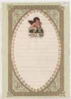 """03362 """"LETTERA DI NATALE - LETTRE DE NOEL - CHRISTMAS LETTER"""" DECORATA IN ORO E RILIEVO, ANNI '30 XX SECOLO ORIGINALE - Decorative Items"""