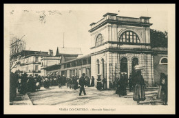 VIANA DO CASTELO - FEIRAS E MERCADOS -Mercado Municipal Carte Postale - Viana Do Castelo
