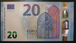20 EURO S012I3 Draghi Italy Serie SD Perfect  UNC - 20 Euro