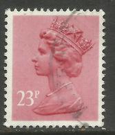 GB 1983 QE2 23p Brown Red (Pink) Machin SG X965.. ( A1142 ) - 1952-.... (Elisabeth II.)