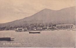 POSTAL DE EL SALVADOR DE LA UNION VISTA PARCIAL DEL AÑO 1925 (JULIO RANK) - El Salvador