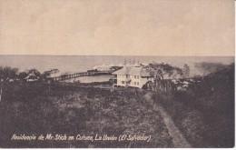 POSTAL DE LA UNION DE LA RESIDENCIA DE MR. STICH EN CUTUCO DEL AÑO 1925 (JULIO RANK) (EL SALVADOR) - El Salvador