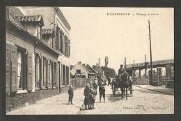 HAZEBROUCK - Passage à Niveaux - Charrette - Cheval - Enfants - Hazebrouck