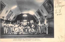 MILITARIA - ECOLES - 94 JOINVILLE : Ecole Normale De Gymnastique Division Escrime Camp De St MAUR : Salle D'Armes - Otros