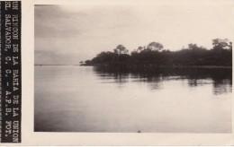 POSTAL DE LA UNION DE UN RINCON DE LA BAHIA DEL AÑO 1928 (FOTO AMANO P.B.) (EL SALVADOR) - El Salvador