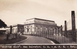 POSTAL DE SAN SALVADOR DEL COUNTRY CLUB DEL AÑO 1928 (FOTO AMANO P.B.) (EL SALVADOR) - El Salvador