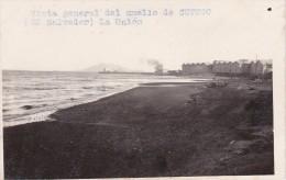 POSTAL DE LA UNION DE VISTA GENERAL DEL MUELLE CUTUCO DEL AÑO 1928 (FOTO AMANO P.B.) (EL SALVADOR) - El Salvador