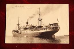 HOGGAR - Paquebot De La Compagnie FRAISSINET - Steamers
