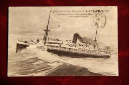 Gouverneur Général LAFERRIERE  - Paquebot Des Transports Maritimes - Steamers