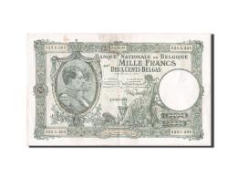 Belgique, 1000 Francs-200 Belgas, 1927-1929, KM:104, 1935-03-04, TTB - [ 2] 1831-... : Regno Del Belgio