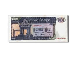 Cambodge, 100 Riels, Non Daté (1963-72), KM:12b, SPL - Cambodia