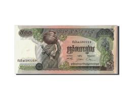 Cambodge, 500 Riels, Non Daté (1973-75), KM:16b, NEUF - Cambodia