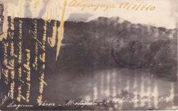 POSTAL DE METAPAN DE LA LAGUNA VERDE DEL AÑO 1910 (EL SALVADOR) - El Salvador