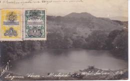POSTAL DE METAPAN DE LA LAGUNA VERDE DEL AÑO 1909 (EL SALVADOR) - El Salvador