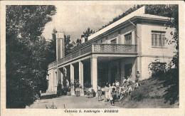 BOBBIO (PC) - COLONIA S. AMBROGIO - F/P - V - 1950 - ANIMATA - Piacenza