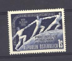Autriche  -  1955  :  Mi  1018  ** - 1945-60 Ungebraucht