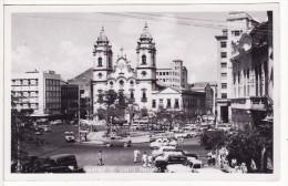 Carte Postale Photo  MATRIZ DE SANTO ANTONIO (Brésil-Brazil-Recife-Amérique Du Sud) Eglise Centre De La Ville - Recife