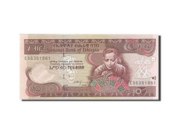 Éthiopie, 10 Birr, 1997 EE 1989, KM:48e, 2008 EE 2000, SPL - Ethiopie