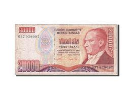 Turquie, 20,000 Lira, 1971-1982, KM:202, 1995, TB+ - Turchia